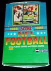 1989 Score Football Wax Box - 36 Factory Sealed packs - Investment