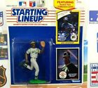 1990 Dave Henderson Starting Lineup figure Card toy Oakland A's W/ Rookie Pic