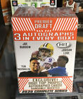 2020 SAGE Football HIT PREMIER Draft Factory Sealed BLASTER BOX 3 AUTO Per Box