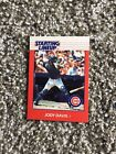 CHICAGO CUBS 1988 JODY DAVIS KENNER STARTING LINEUP CARD NM AWESOME ITEM