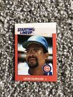 CHICAGO CUBS 1988 LEON DURHAM KENNER STARTING LINEUP CARD NM AWESOME ITEM