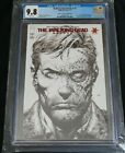 The Walking Dead Deluxe #1 CGC 9.8 RED FOIL B&W Sketch 2nd Print Variant CVL TWD