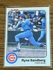 Ryne Sandberg Cards, Rookie Cards and Autographed Memorabilia Guide 25
