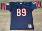 Authentic Mitchell and Ness 1966 Chicago Bears Mike Ditka Navy Jersey 48 XL RARE