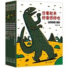 New Hot 7pcs set Dinosaur Series Picture Books Kids Bedtime Story Book Early Chi