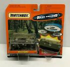1998 Matchbox Real Talkin Packs Military Set with Humvee Missile Carrier Soldier