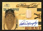 DALE MURPHY 2004 Timeless Treasures Material Ink GAME USED BAT AUTOGRAPH # 25 **