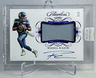 2020 Flawless Russell Wilson Patch Autograph Sapphire 3 5 Jersey Numbered Auto