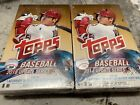 (2) Two 2018 Topps Update Factory Sealed Hobby Baseball Box Acuna Soto