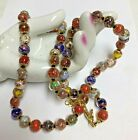 Vintage Colorful MURANO Glass Necklace
