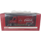 Beverage Delivery Truck Coca Cola with Handcart and 4 Bottle Cases 150 Scale
