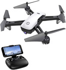 SANROCK U52 Drone with 1080P HD Camera for Adults and Kids WiFi Live Video FPV