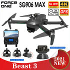 SG906 MAX Pro 3 GPS Drone Laser Obstacle Avoidance 5G WiFi FPV RC Quadcopter
