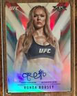 Rare 3 5! 2017 Topps Fire UFC Ronda Rousey Auto Autograph Red #3 5 Not Rookie NM