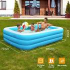 120 103 90 Above Ground Family Swimming Pool Inflatable Water Pool for 8 Kids