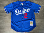 Authentic Mitchell and Ness 1995 Los Angeles Dodgers Tommy Lasorda Jersey RARE