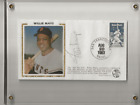 Autographed First Day Cover WILLIE MAYS Say Hey Kid NY SF GIANTS HOF ROY Signed