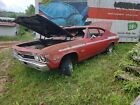 1968 Chevrolet Chevelle Basic 1968 Chevrolet Chevelle Coupe Red RWD Automatic Basic