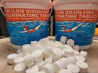 2 Lbs 1 In Chlorine Tablets Slow Stabilized Swimming Pool Spa 1 Inch Tabs