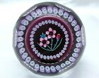 Beautiful Caithness Whitefriars Ltd Ed Paperweight Alpine Pink 79 145