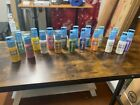 Gallery Glass Window Color Lot of 18 Plaid Paint 2oz Brand New Factory Sealed