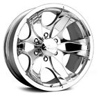Pacer 187P WARRIOR Wheels 16x8 10 6x1397 10795 Polished Rims Set of 4
