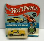 original Hot Wheels Redline SNAKE Yellow Paint Blisterpack BP Carded Unpunched