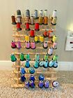 Floriani Embroidery Thread Spools Machine Embroidery Huge Lot 50+ w wall mount