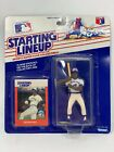 1988 Kenner Starting Lineup GEORGE BELL Figure w/ Collector Card