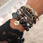 LK Kinsley Armelle LACECREST Bracelet Stack NWT Natural Stone Jewelry