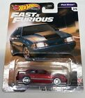 New HOT WHEELS Super Custom 92 Ford Mustang Real Riders