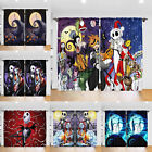 The Nightmare Before Christmas 2PCS Blackout Curtain Living Room Curtain Drapes