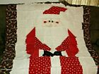 Saint Nick Rag Quilt Very Cute and Festive All Cotton New for 2021
