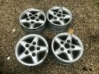 DEFENDER, DISCOVERY 1, RRC. GENUINE LAND ROVER TWR ALLOY WHEELS X4. NO TYRES.