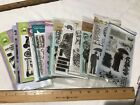 Clear Rubber Stamp Stamps Lot of 13 lawn fawn holtz hero arts avery elle LOOK