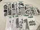 Concord  Ninth Huge Lot Stamps  Thin Metal Dies LOOK Acrylic Clear Rubber