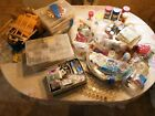 Huge Glass Bead Lot 4 Jewelry Making Crafts 50 Lbs Beads Findings PLUS Tools WOW