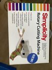 Simplicity Rotary Cutting Machine Model 881950 Quilting Scrapbooking Cardmaking