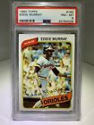 Eddie Murray Cards, Rookie Cards and Autographed Memorabilia Guide 8