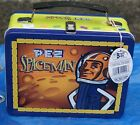 NEW 2002 BOSLEY BOXES PEZ DOCTOR NURSE METAL LUNCHBOX w/ THERMOS & TAG jk