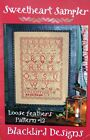 SWEETHEART SAMPLER by BLACKBIRD DESIGNS cross stitch  Loose Feathers OOP 2005