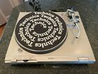 Technics SL D2 Turntable Direct Drive Record Player works BUT Parts or Repair