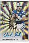 Andrew Luck Signs Autograph Deal with Press Pass 18