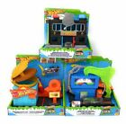 Hot Wheels Downtown Playset Burger Dash Police Station and Toxic Fuel Stop