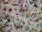 65 Vtg Greeting Cards MOTHERS DAY scrapbook Crafts Art Deco flowers Lot 40 50s