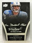 2009 Upper Deck Exquisite Collection Football Cards 3