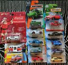 LOT OF 12 1 64 VW HOT WHEELS MATCHBOX AND JOHNNY LIGHTNING DIECAST CARS LOOK