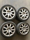 """Peugeot 206 16"""" Alloy Wheels Nimrods With Tyres 195 45 16"""
