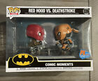 Funko Pop - Heroes 336 - Comic Moments Red Hood Deathstroke- PX Exclusive - SDCC