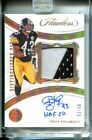 Hair-larious: Troy Polamalu Signs First Cards Since 2003 3